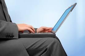 laptop op schoot